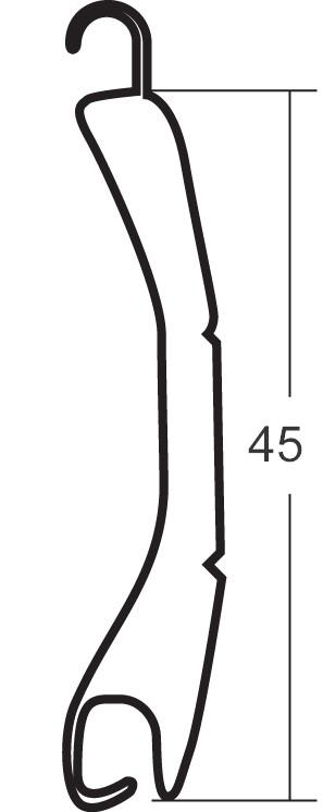aluminiowe profile roletowe typu РА39